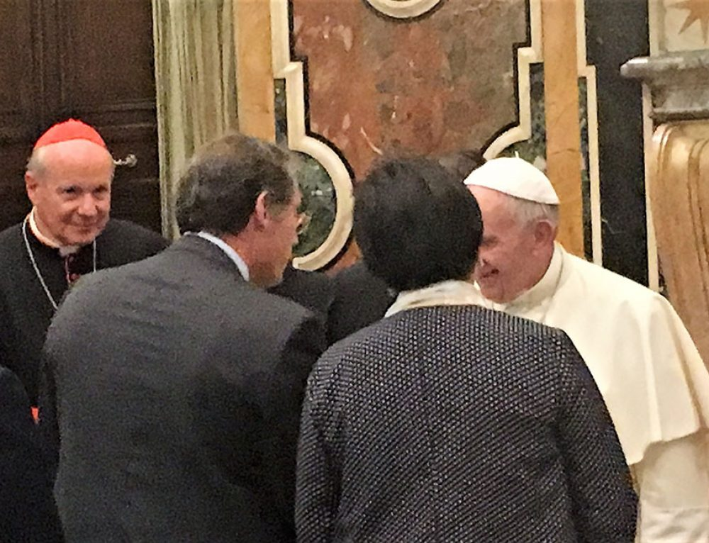 ACN updates Pope Francis personally about NRC efforts