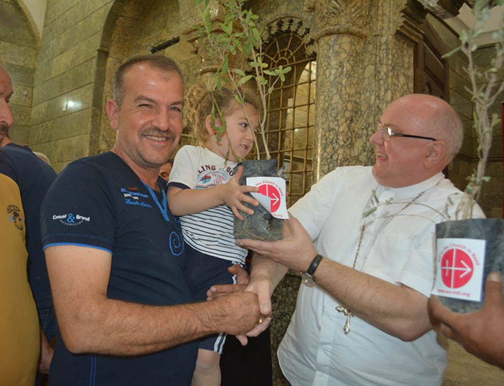 Celebrations mark the return of Iraqi Christians to Nineveh
