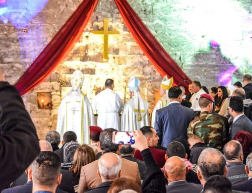 The First Mass in Mosul since 2014