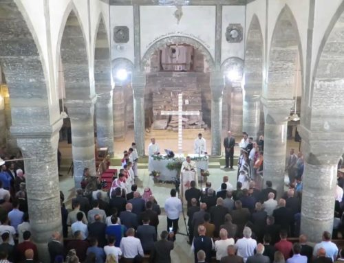 """If the families do not return to their homes, then Christianity will disappear in Iraq"""