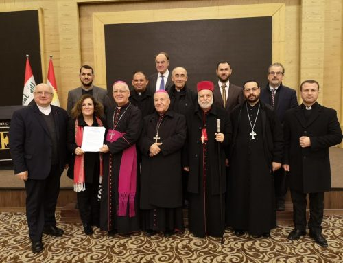 "Bishops and Members of NRC Sign ""Call for Action"""